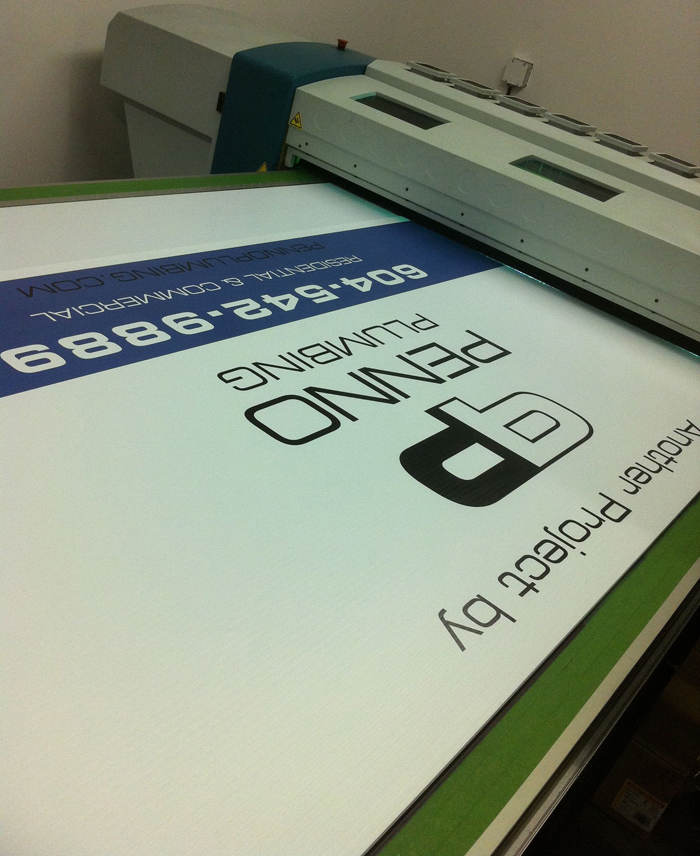 Uv Inkjet Large Format Digipress New Dimension To Signs